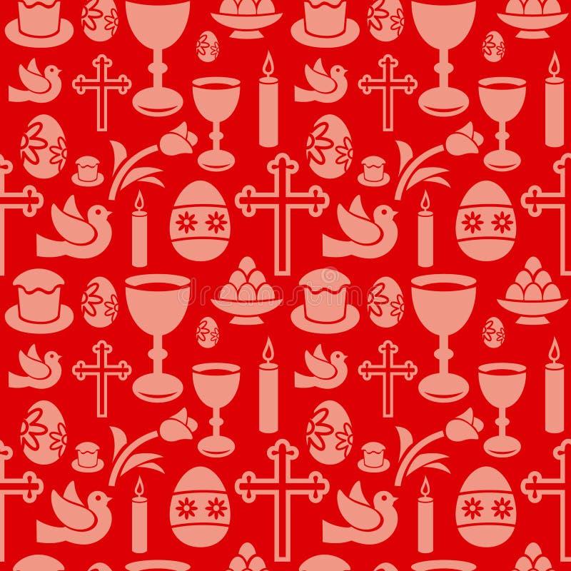 Wielkanoc wzór ilustracja wektor