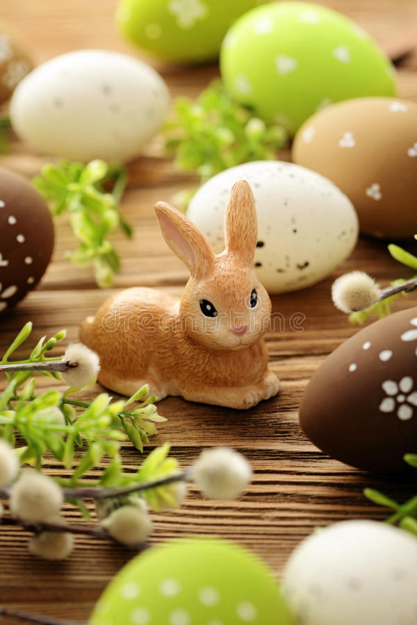 Wielkanocna dekoracja obraz stock