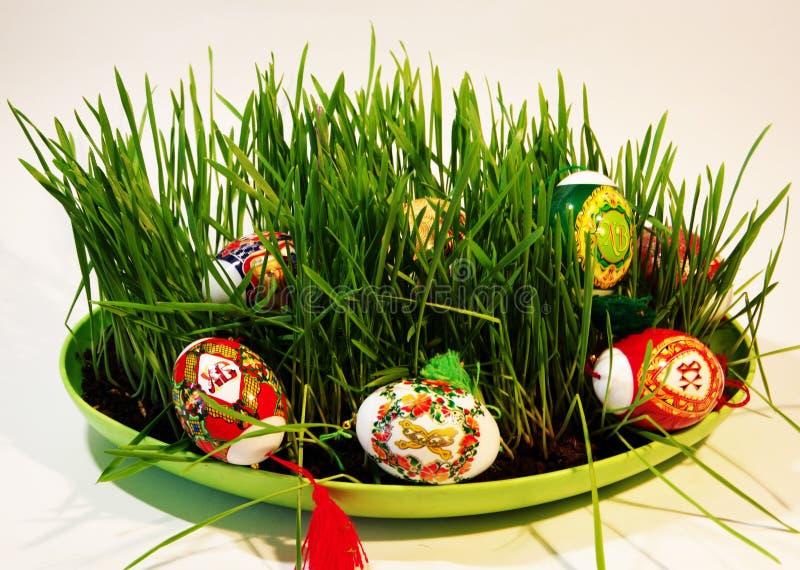 Wielkanocna gratulacje karta zdjęcia stock