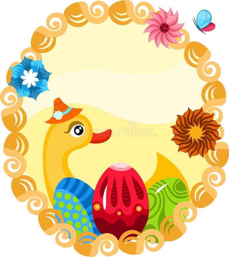 Wielkanocna ilustracja royalty ilustracja