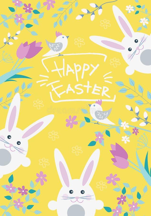 Wielkanocna poczt ilustracja wektor