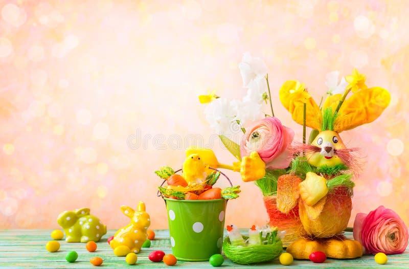 Wielkanocna wakacyjna dekoracja obraz royalty free