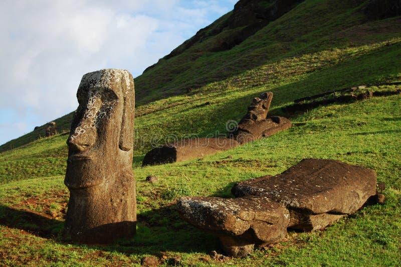 Wielkanocna wyspa - Chile fotografia stock
