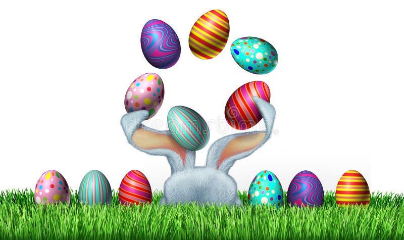 Wielkanocna zabawa ilustracja wektor