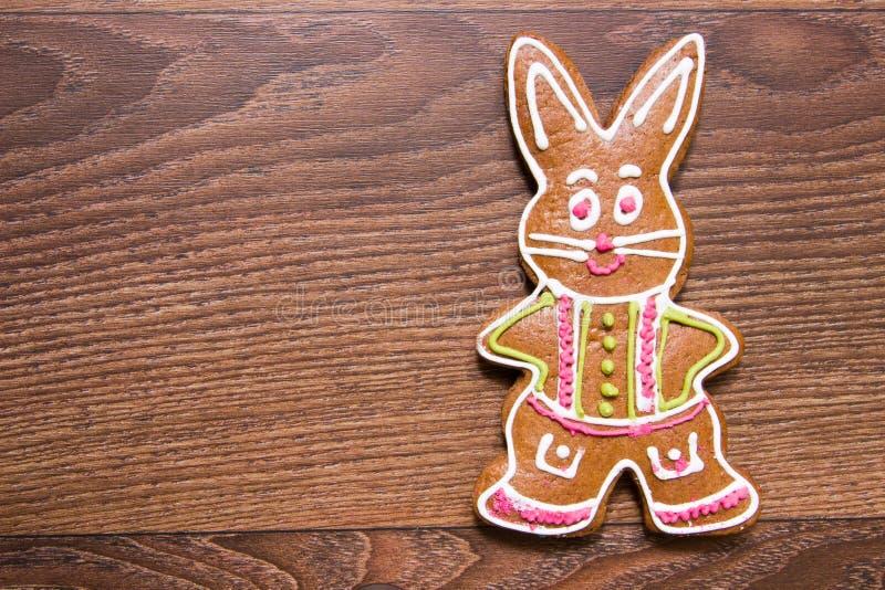 Wielkanocnego królika ciastka obrazy stock