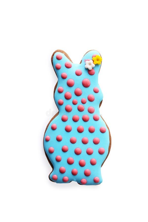 Wielkanocni ciastka w formie królika zdjęcie stock