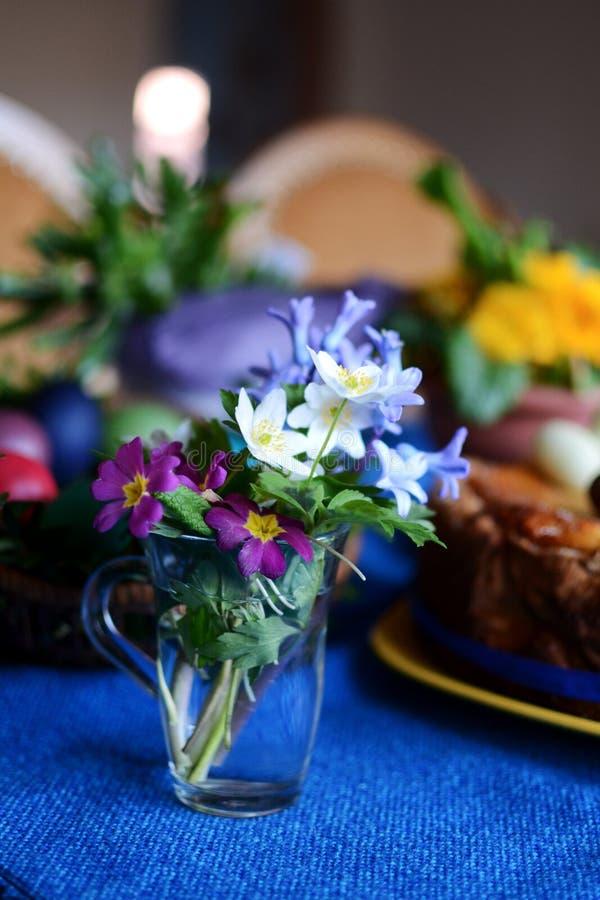 Wielkanocni kwiaty obrazy stock