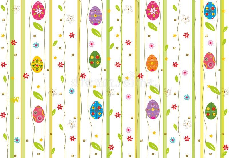 Wielkanocny bezszwowy wzór. ilustracji