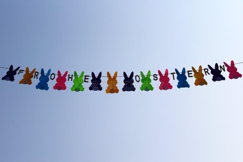Wielkanocny feston zdjęcie stock