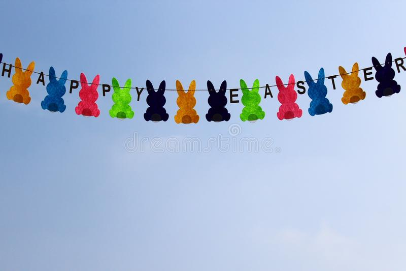 Wielkanocny feston fotografia stock