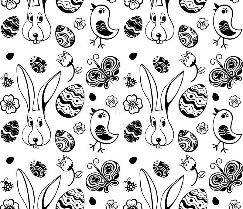 Wielkanocny ilustracja wzór royalty ilustracja