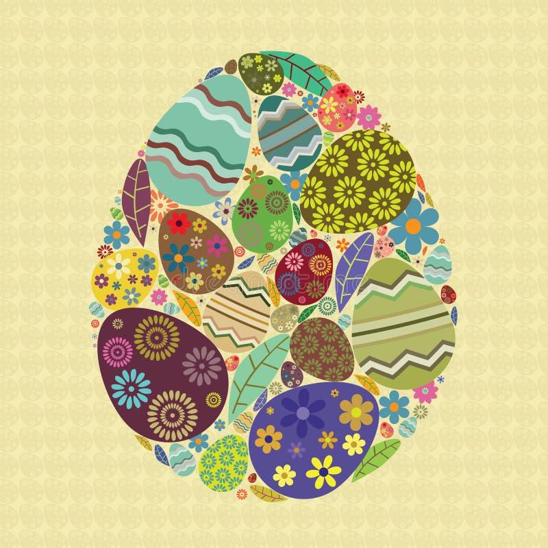 Wielkanocny jajko royalty ilustracja