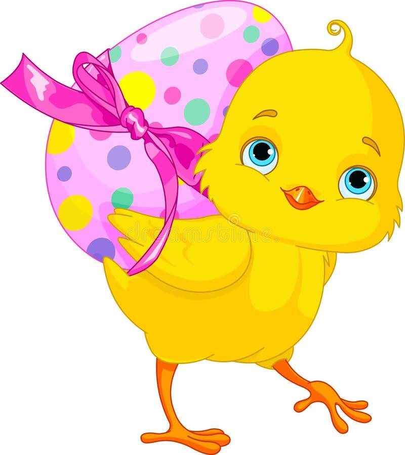 Wielkanocny kurczątko