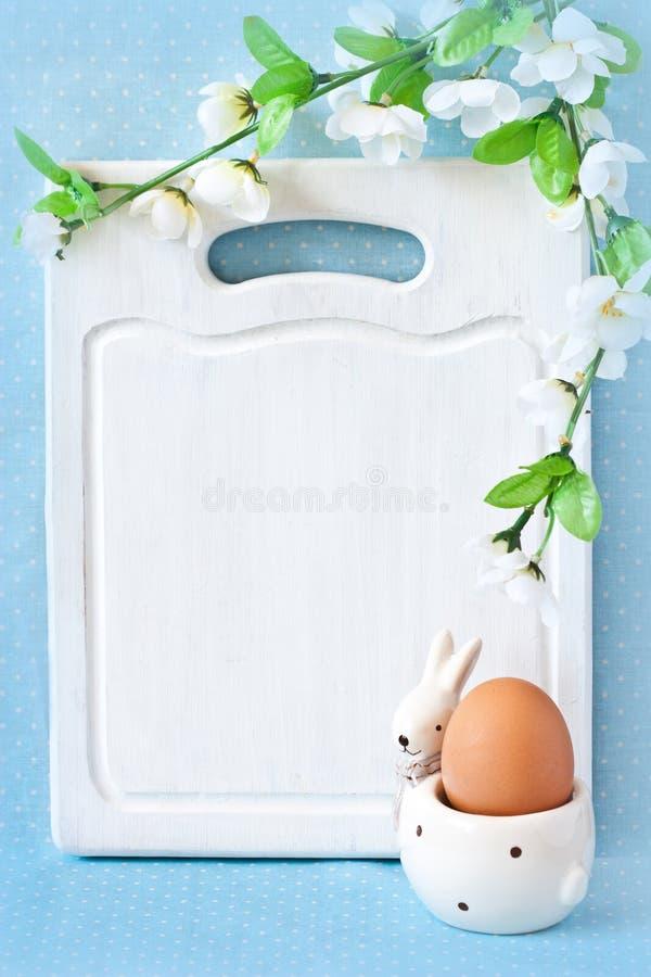 Wielkanocny menu. fotografia stock