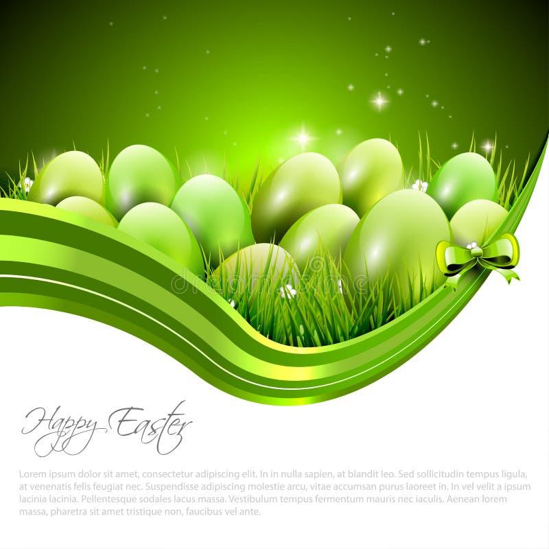 Wielkanocny tło royalty ilustracja