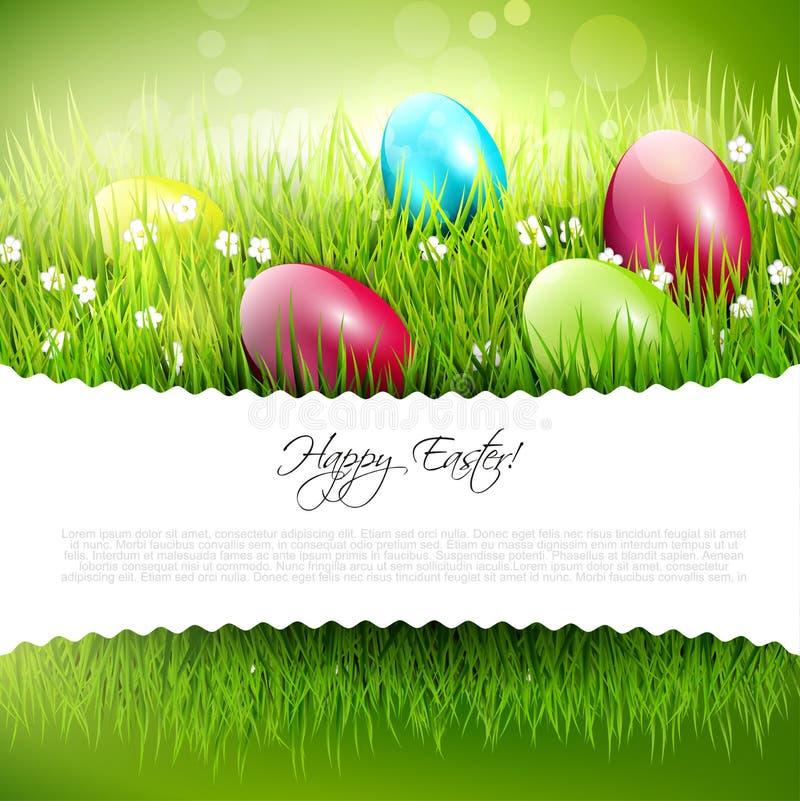 Wielkanocny tło ilustracji