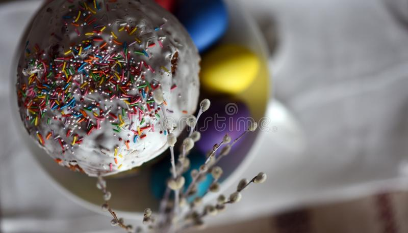 Wielkanocny Verba fotografia stock