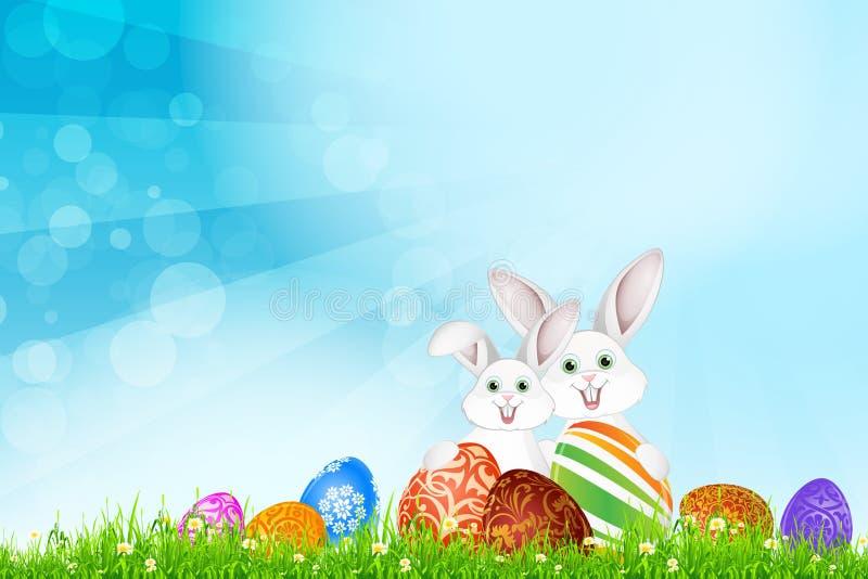 Wielkanocny wakacyjny tło zdjęcia royalty free