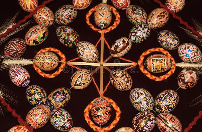 Wielkanocnych jajek kolekci wzór 03 zdjęcia royalty free