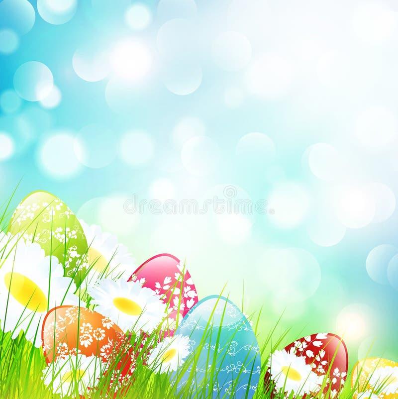 Wielkanocy pole royalty ilustracja