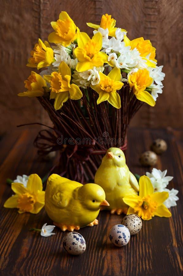 Wielkanocy stołowa dekoracja zdjęcie royalty free