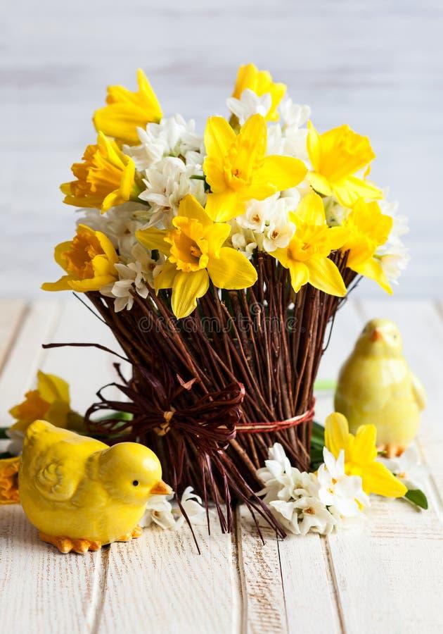 Wielkanocy stołowa dekoracja zdjęcia royalty free