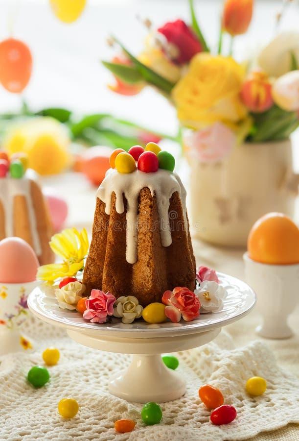 Wielkanocy stołowy położenie zdjęcia stock