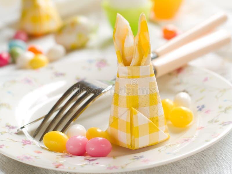 Wielkanocy stołowy położenie zdjęcia royalty free
