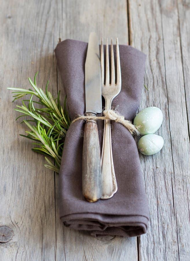 Wielkanocy stołowy położenie obraz royalty free