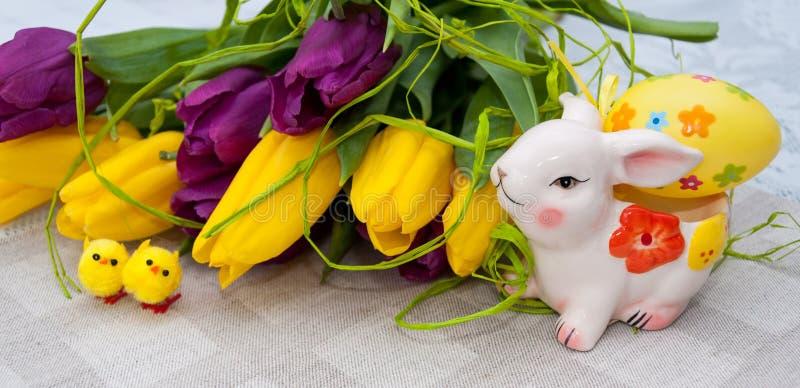 Wielkanocy wciąż życie zdjęcia stock