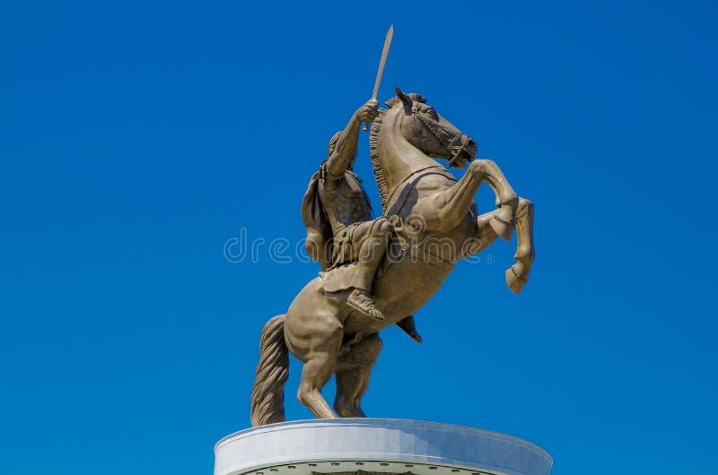 Wielki Aleksander fotografia royalty free