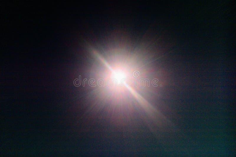 Wielki Amerykański zaćmienie od Provo, Utah zdjęcia stock