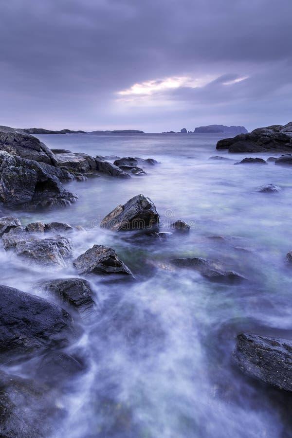 Wielki Bernera - wyspa Lewis obraz royalty free