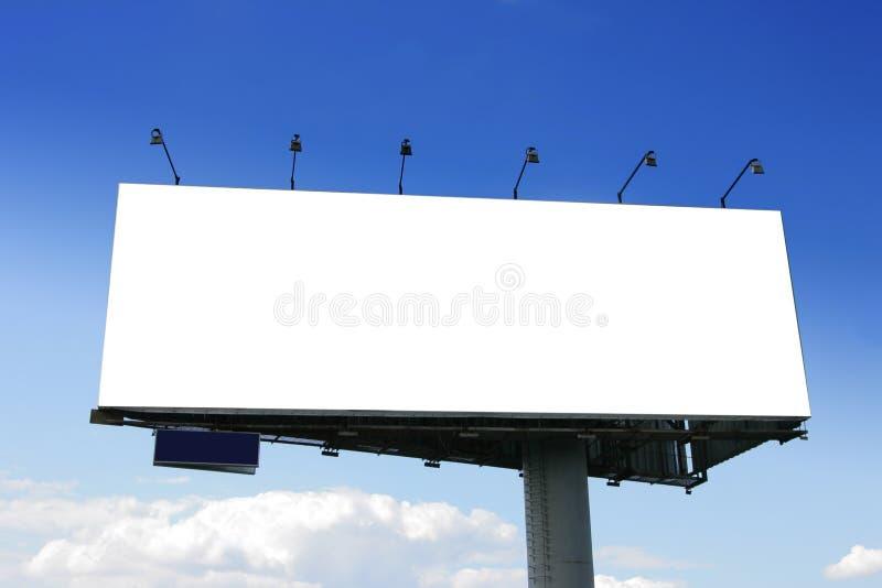wielki billboardu ślepej próby obrazy royalty free