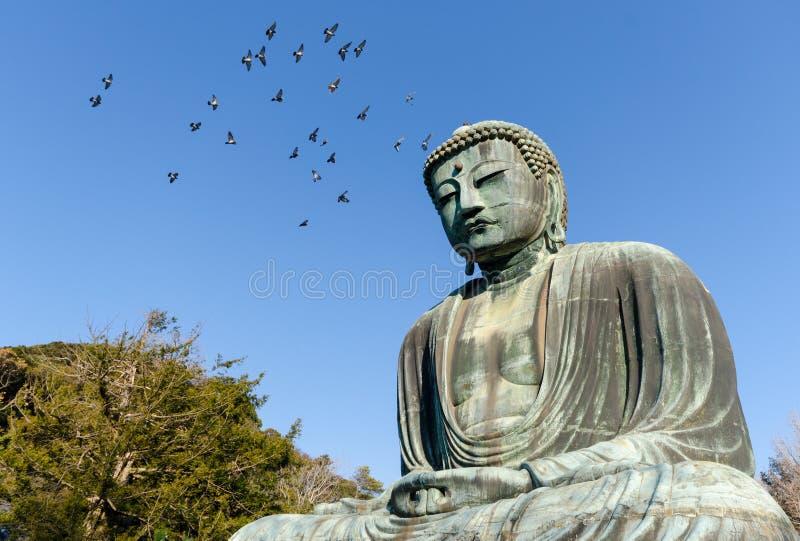 Wielki Buddha, Kamakura, Japonia zdjęcia royalty free