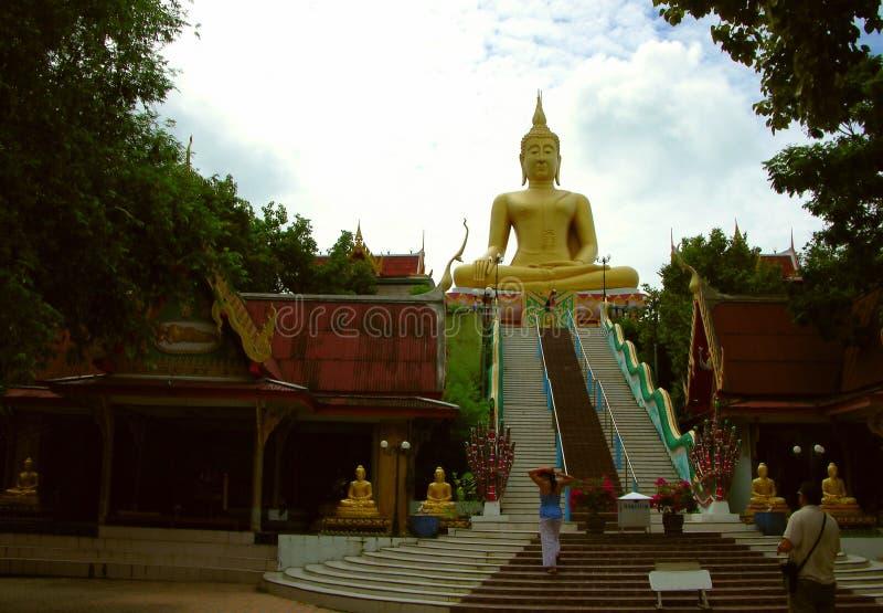 Wielki Buddo Samui Thailand Zdjęcie Royalty Free