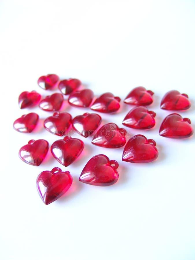 Wielki czerwony serca
