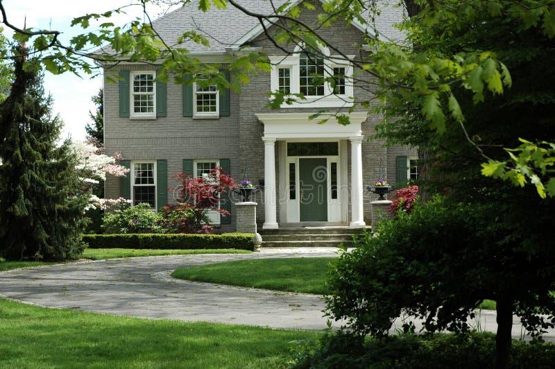 wielki dom obrazy royalty free