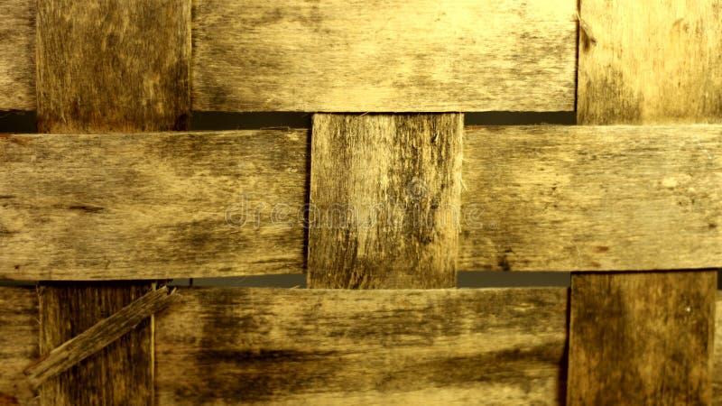Wielki drewniany tło z nieociosanym wzorem fotografia royalty free