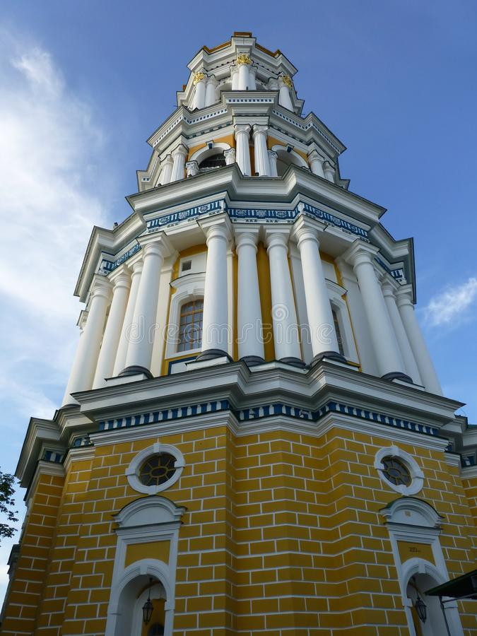 Wielki dzwonkowy wierza Kijów Lavra fotografia stock
