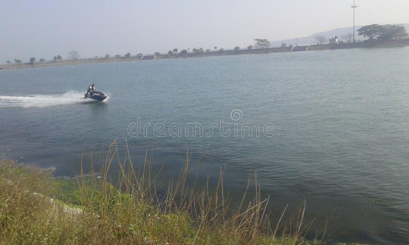 Wielki jezioro w Odisa zdjęcia stock
