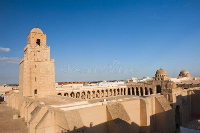 wielki kairouan meczet zdjęcie stock
