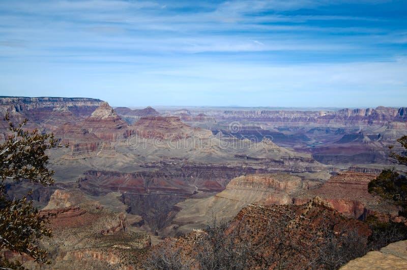 wielki kanion z widokiem na obrazy stock