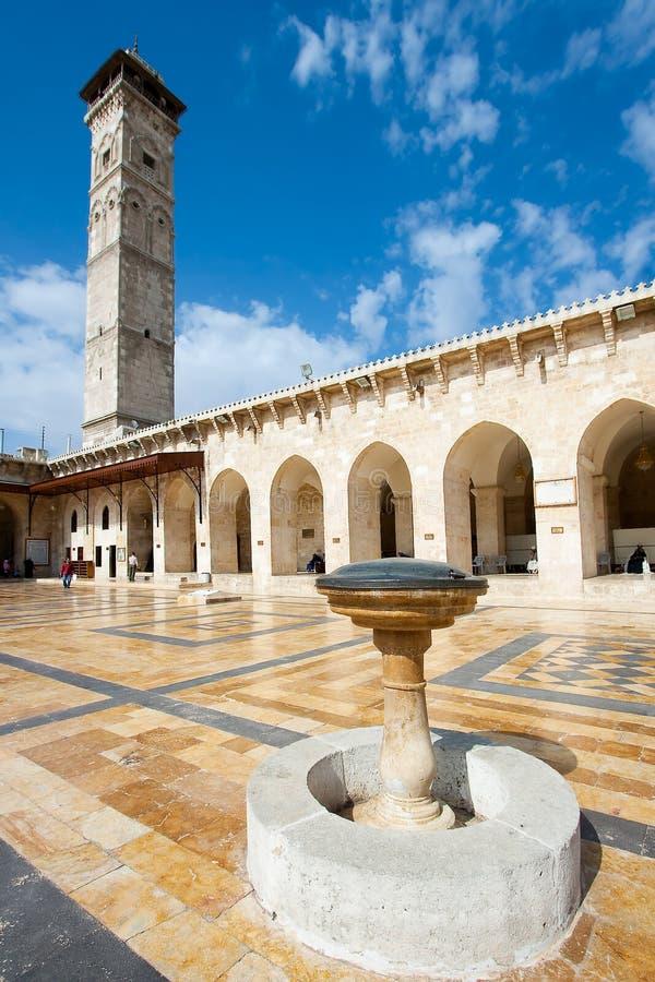 Wielki meczet Aleppo obraz royalty free