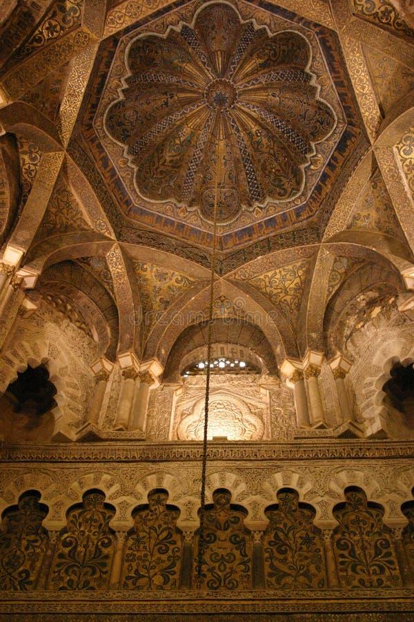 Wielki meczet cordoba obraz royalty free