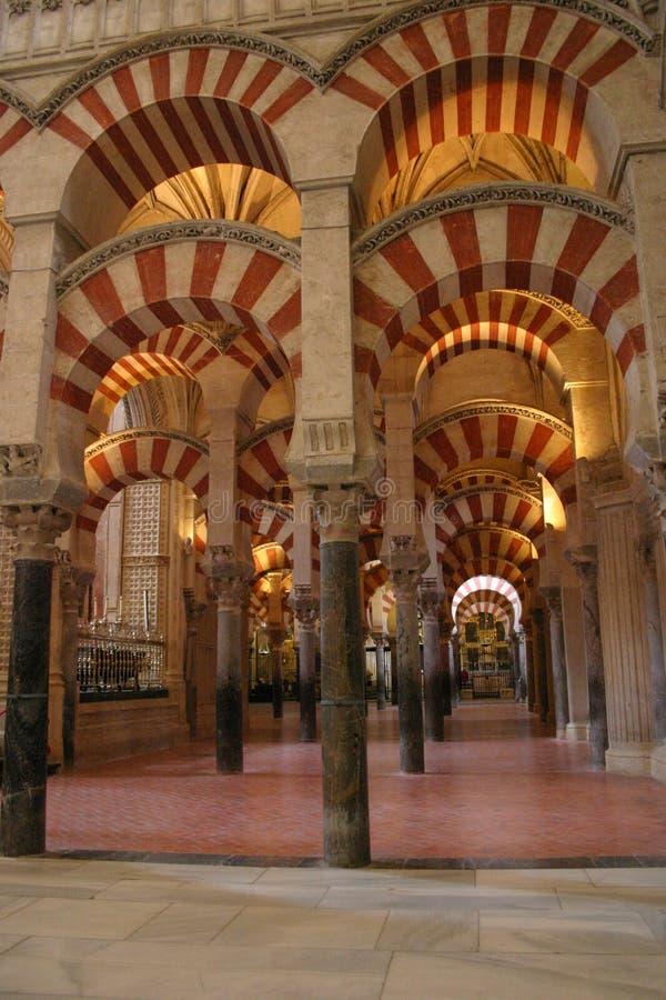 Wielki meczet cordoba zdjęcia royalty free