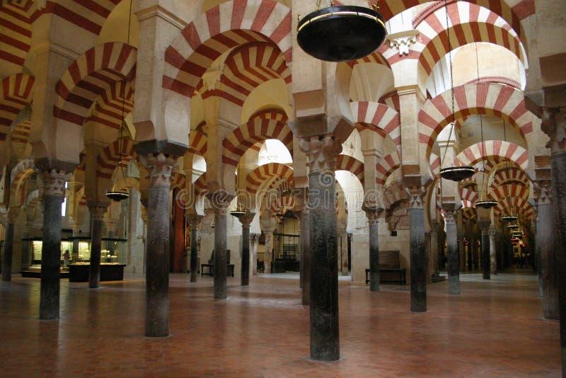 Wielki meczet cordoba obraz stock