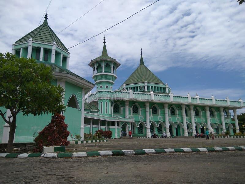 Wielki meczet Sidenreng Rappang zdjęcie stock