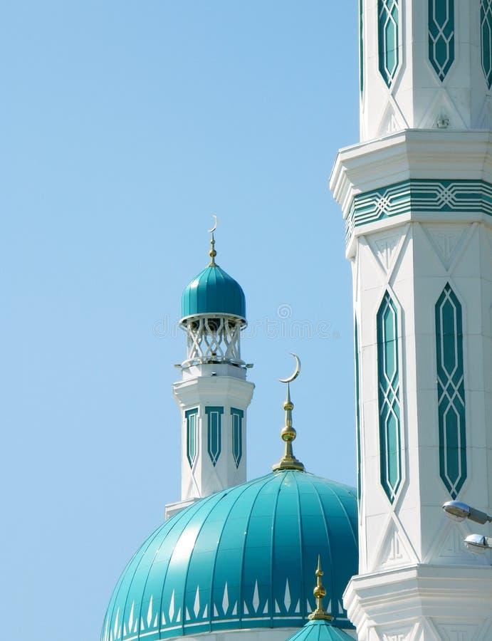 Wielki meczet w Karaganda fotografia stock