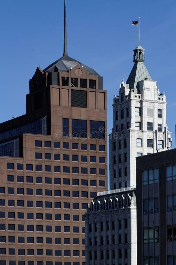 Wielki miasto w stanie Tennessee: Memphis miasta budynki fotografia stock